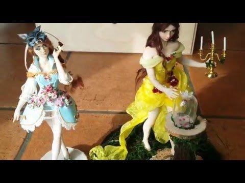 Tutorial angenioso - drappeggio & sfumatura - YouTube