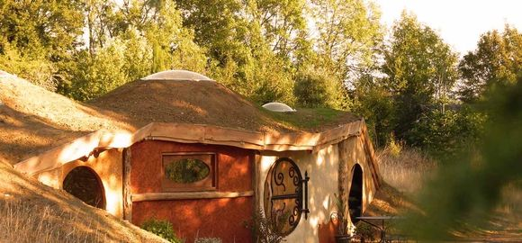 With a pool, a private hot tub and wild lake swimming on your doorstep, even Hobbits would struggle to resist a dip