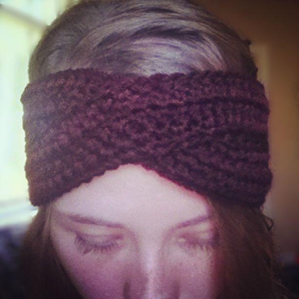 https://www.etsy.com/ca/shop/PreciousLambKnits?ref=hdr_shop_menu Coming soon to my shop! Handmade turban headband in burgundy.