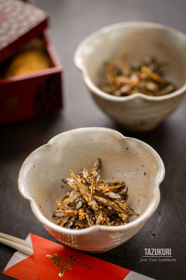Tazukuri (Candied Sardine)   Easy Japanese Recipes at JustOneCookbook.com