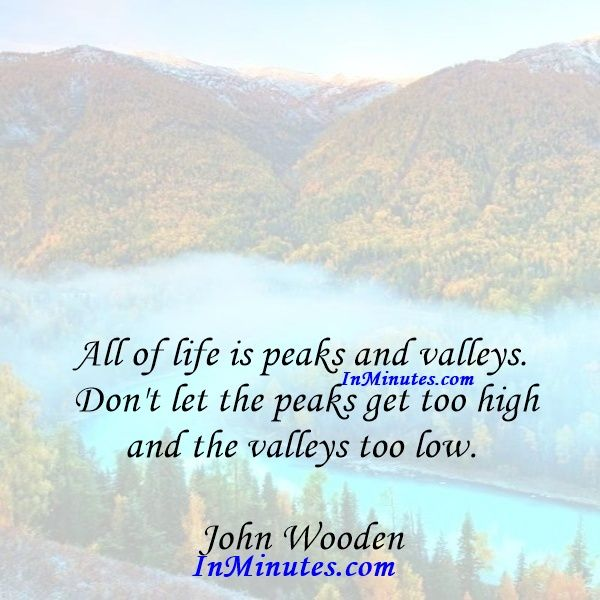 John Wooden Quotes On Love: 10 Best John Wooden Quotes On Pinterest