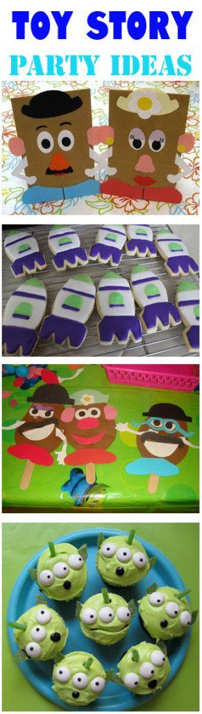 Toy Story Birthday Party Ideas/ make a potatoe head