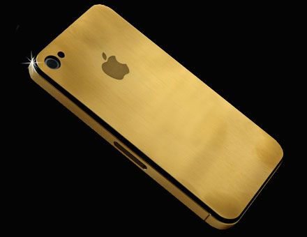 i picked up this cute thing at an invite-only millionaire+ auction called Fleemarket!: Iphone Cases, Iphone 4S, Things Golden, Iphone 4G, Gold Iphone 4, Timetravel, Solid Gold, Goldiphone4, Golden Apples