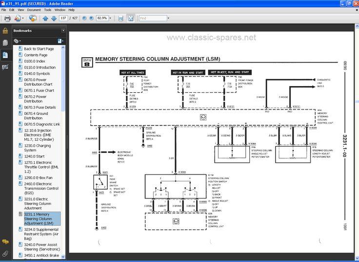 Bmw E39 Electrical Wiring Diagram  3