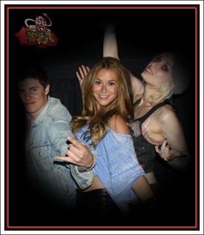 Marc, Alexa & Emilie @ Rave Motion Picture Las Vegas