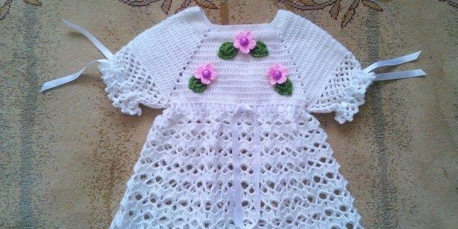 Örgü Bebek Elbisesi Nasıl Başlanır