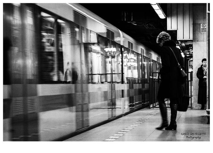 Metropolitana a Praga.