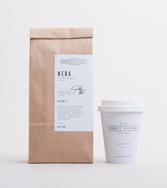Image result for minimalist coffee packaging