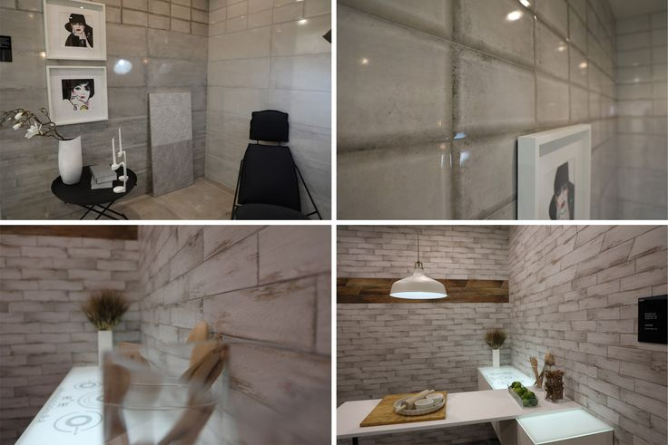 The small-size faux wood Retro tiles and the sparkling metal effect Mirror collection are the new arrivals by Fanal.