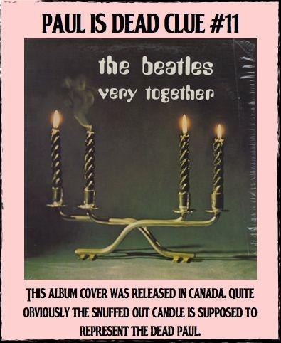 Paul is dead -- clue #11