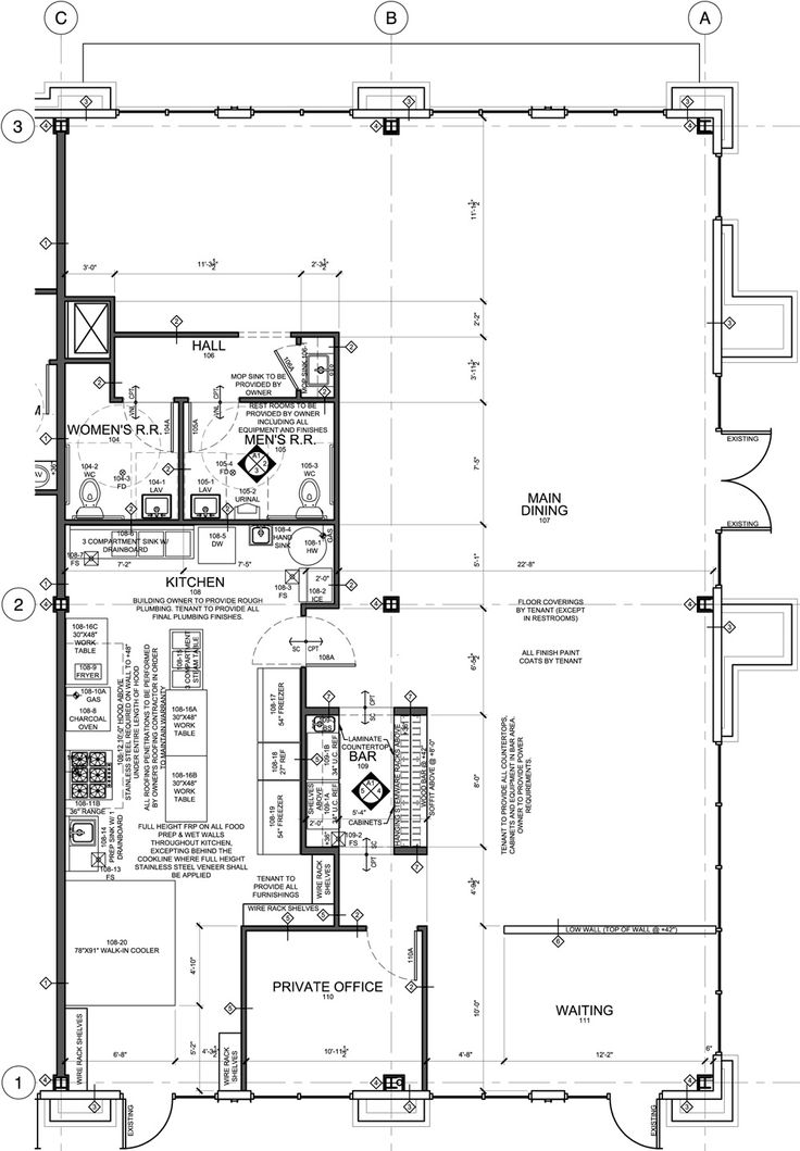 21 best Cafe Floor Plan images on Pinterest Restaurant design - kitchen design plans