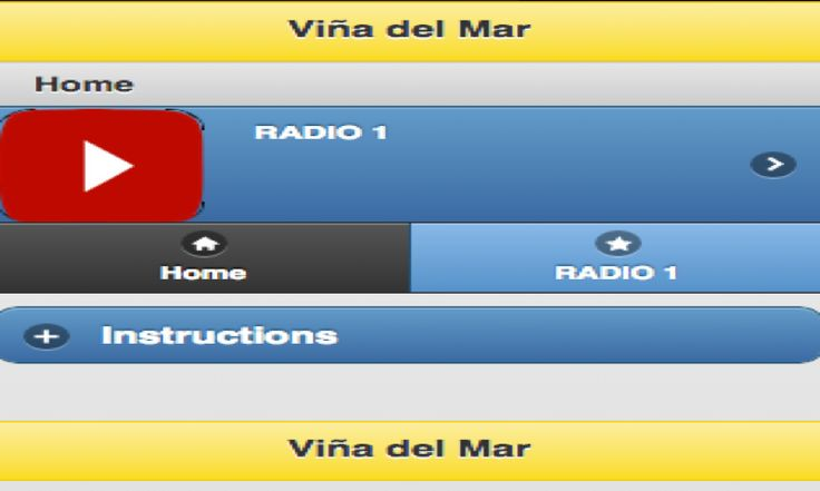 DESEARIA TENER UNA APP QUE USTED PUEDA ESCUCHAR RADIO DIRECTAMENTE DESDE VINA DEL MAR, CHILEhttps://www.amazon.com/Objective-Labs-Vi%C3%B1a-del-Radio/dp/B00QL11FEW/ref=sr_1_1?ie=UTF8&qid=1466122159&sr=8-1&keywords=VINA+DEL+MAR+RADIO