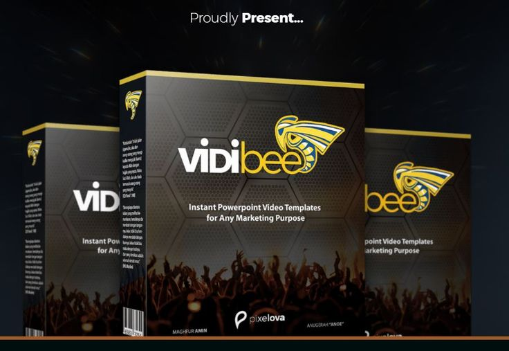 ********* [Strongly Recommended] Vidibee PowerPoint Video Maker Tools by Maghfur AminAmazing Software to Create Video 40% Faster and Can Save Budget Up to 93% Than Create Video from Scratch withou…