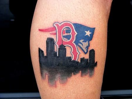 #Boston. Not a sox fan but this is cool.