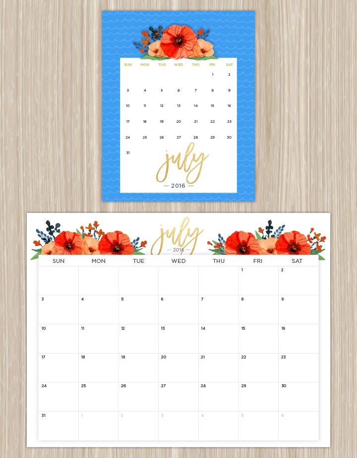 Best 25+ July 2016 Calendar Template Ideas On Pinterest | July