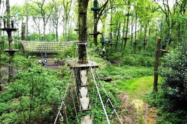 Lekker klimmen en klauteren voor jong en oud bij Fun Forest in Venlo!