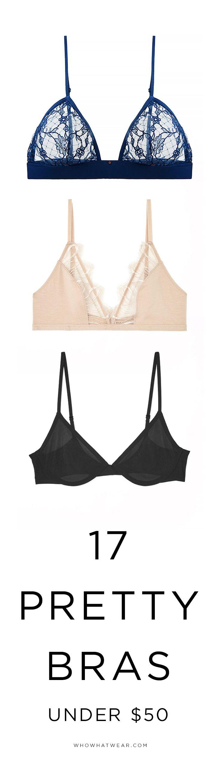 Pretty bras under $50
