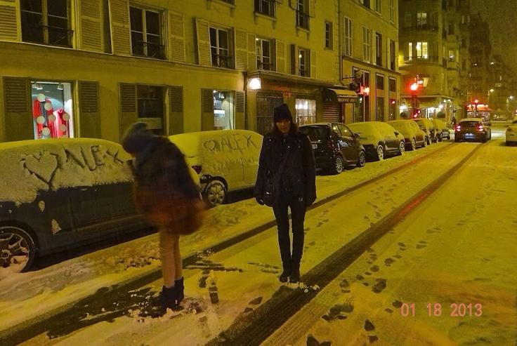 Snow in Paris @whosnext2013