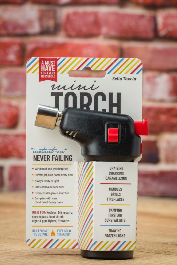 Bella Tavola Mini Kitchen Torch | For The Baker In You ...