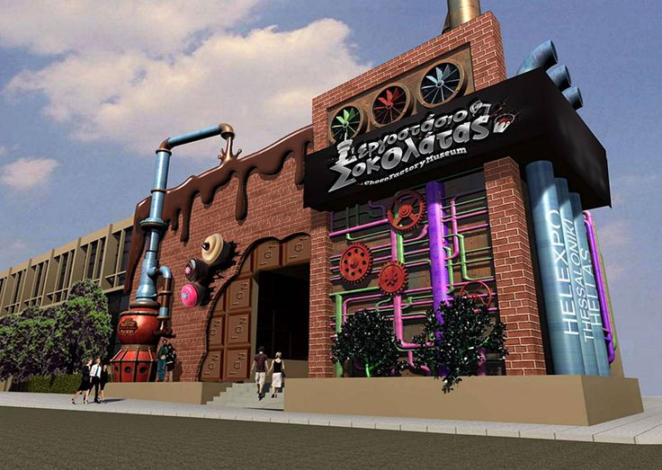 ISOMAT paints the Chocolate Factory! | NEWS-ANNOUNCEMENTS