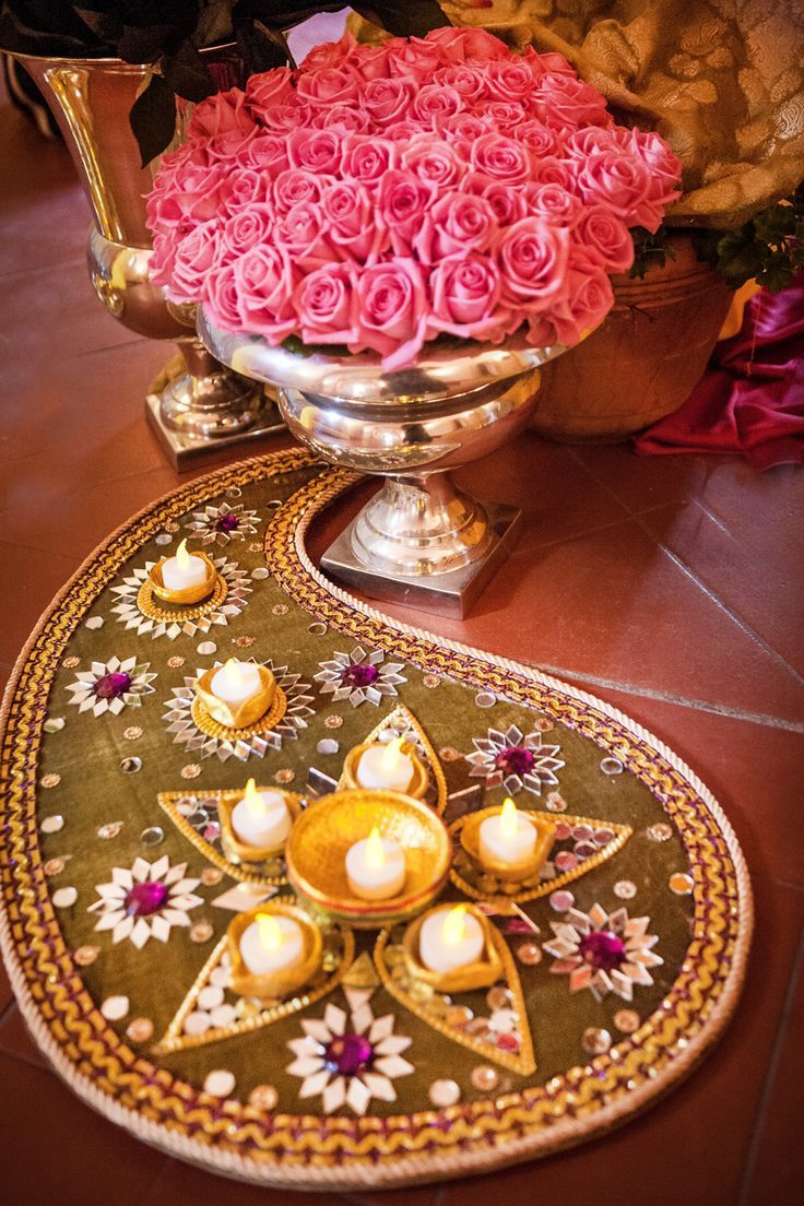 Images of wedding decor The  best images about Pooja decor on Pinterest