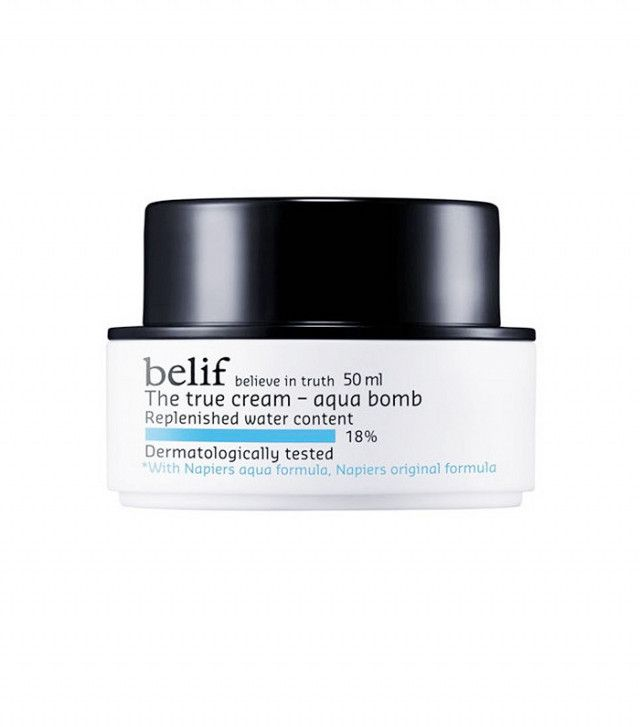 This Magical Moisturizer Is the #1 Best-Selling Korean Beauty Product at Sephora | Byrdie. Belif The True Cream Aqua Bomb ($38)