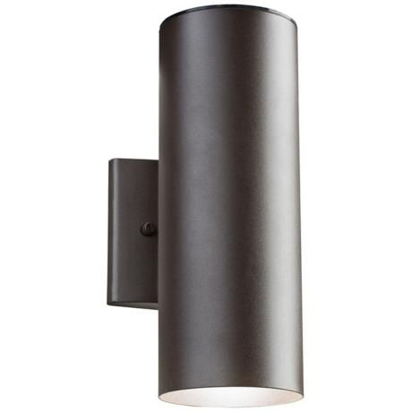 Kichler Elba 12 1 4 High LED Bronze Outdoor Wall Light
