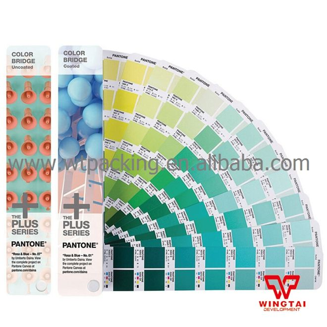 Latest Pantone Color Bridge Coated and Uncoated Paper Color Guide GP6102N
