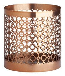Cooper candlestick from H&M