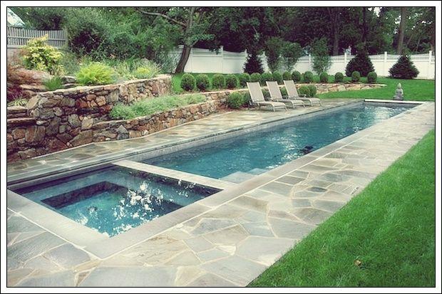 Die Vorteile Von Lap Pools Und Ihren Markanten Designs Deko Trend Lap Pools Backyard Small Backyard Pools Backyard Pool Designs