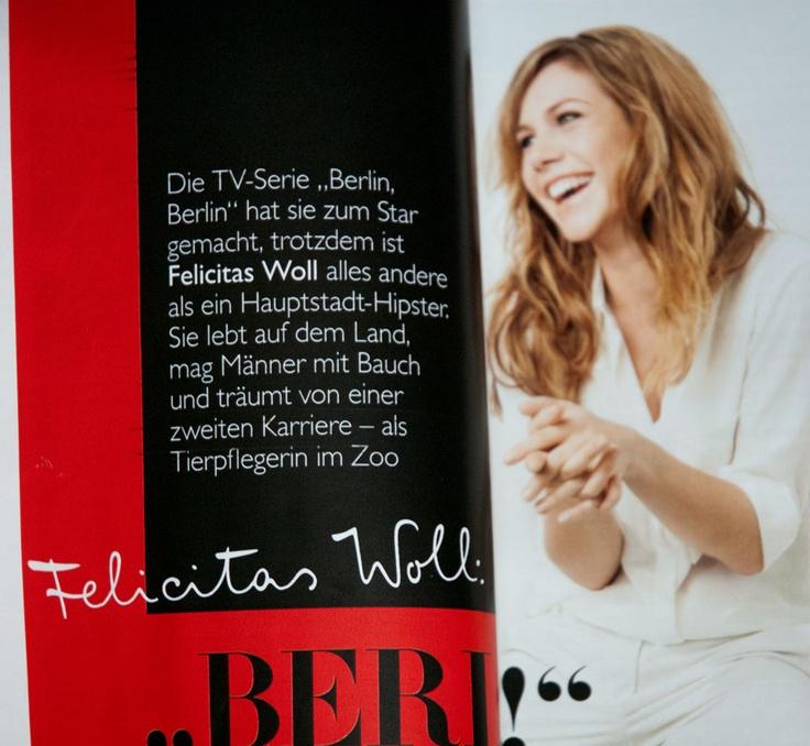 FF Mister K & Felicitas Woll (May 2013, Grazia magazine)