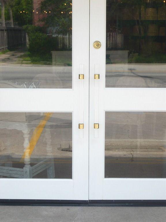 Lucite Door Hardware!