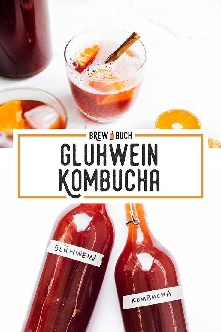 Mulled Wine Gluhwein Kombucha Recipe In 2020 Kombucha Kombucha Flavors Mulled Wine