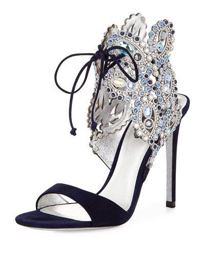 Rene Caovilla  Reposted by   http://stores.ebay.com/Fashionista-Princess-Jewelry