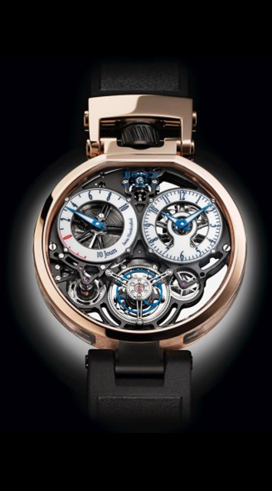 The Sixth—and Sleekest—Watch Ever from Bovet Fleurier and Pininfarina