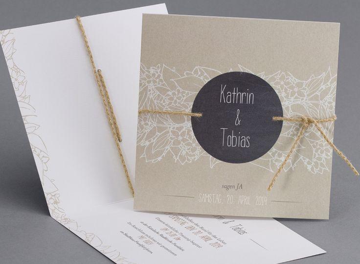 Hipster #Hochzeitskarten #kreativehochzeitskarten #einladungskarten  Plagwitz M10-002