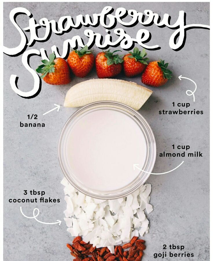 Strawberries are considered one of the healthiest #fruits. They are packed with #antioxidants, lower blood pressure and protect your heart. Packed with essential #vitamins and #minerals, they are also sodium, cholesterol and fat free. This is the perfect, delicious #smoothie to start your morning.
