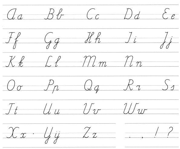 Beginnen met handletteren - deel 2: sierlijke letters