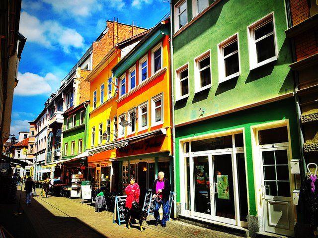 A street in Eisenach http://spinpicks.com
