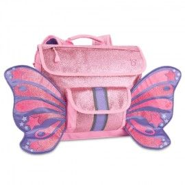 My girls are crazy for this Bixbee Sparkalicious Glitter Butterflyer Kids Backpack spotted at Not Another Baby Shop