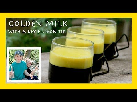 """""""Golden Milk"""" -- A Turmeric Beverage to Fight Colds, Flu, and Even Depression"""