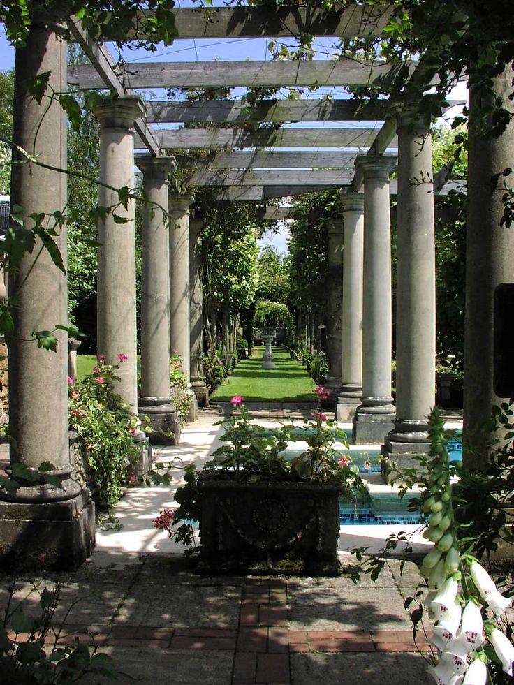 Pergolas should be covered in wisteria