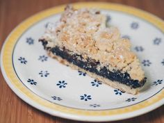 Thank you for eating.: [Übern Tellerrand] Rhabarber-Mohn-Streuselkuchen zum Muttertag + Gewinner