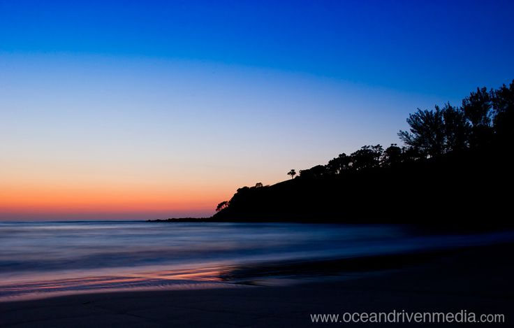 Sunrise over Transkei point