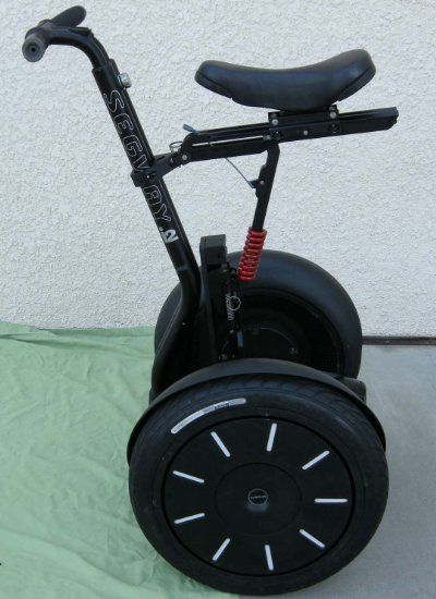 Segway I2 with Segseat Seat Newest Generation  New and Used Segway Scooters Segway Personal Transporters and Copies. Cheap Prices, New and  Used Segway and Human Transporters. http://www.goldmedal100.com/segway.htm