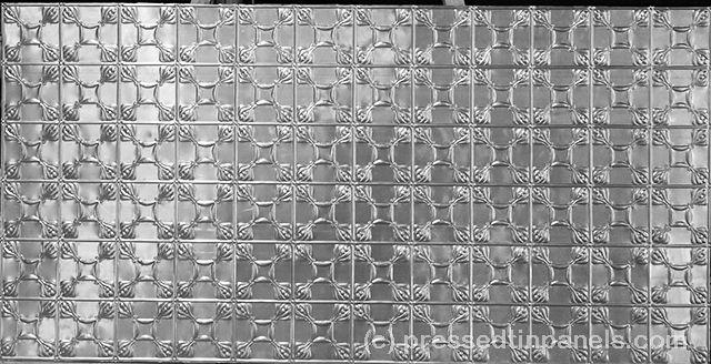 Pressed Tin Panels Evans