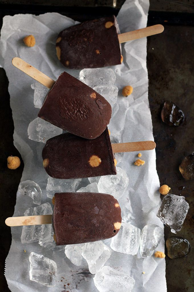 Vegan Peanut Butter Cookie Dough Fudgsicles | love me, feed me