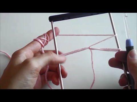 Vzdušné háčkovanie | Hairpin Lace | Ako začať