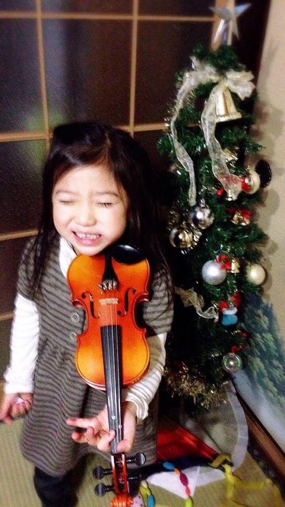 バイオリンとご縁がありました♪