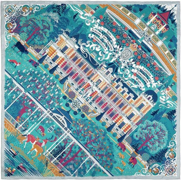 bdd6d222b973 Silk Scarf Palace Of Dreams in 2018   Products   Pinterest   Silk scarves,  Silk and Shawl